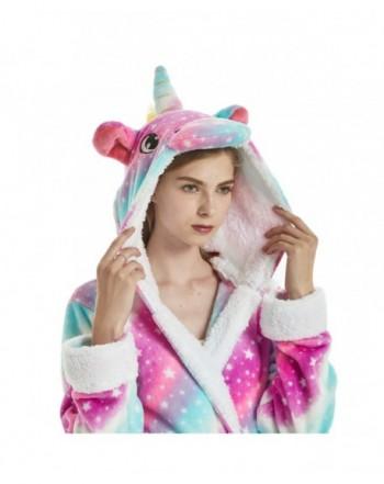 Bathrobe Unicorn Sleepwear Comfortable Loungewear