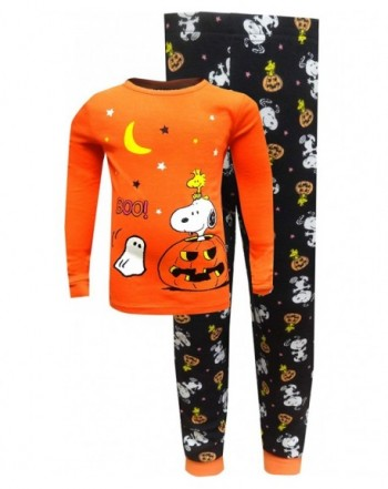 Peanuts Girls Snoopy Pumpkin Pajama