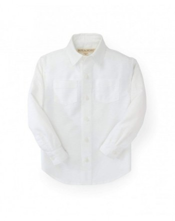 Hope Henry Linen Button Shirt