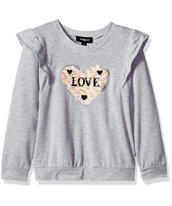 Amy Byer Shoulder Pullover Sweatshirt