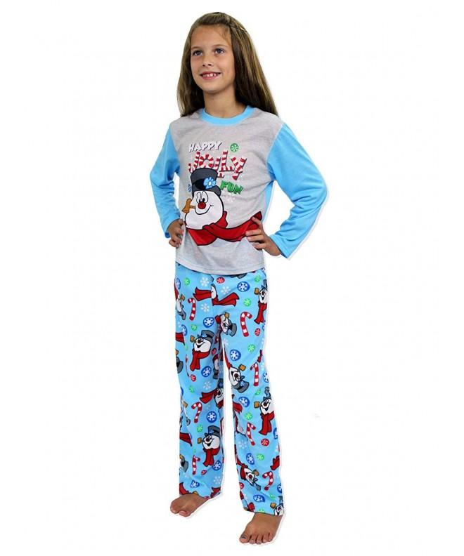Frosty Snowman Christmas Holiday Sleepwear