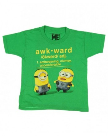 Despicable Me Awkward Graphic T Shirt