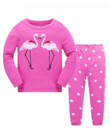 Flamingo Pajamas Little Sleepwear Clothes