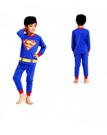 Baby Superhero Cartoon Pajamas Set