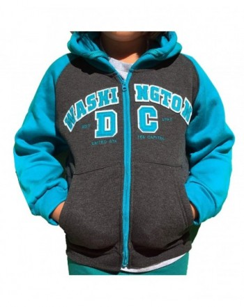 Washington DC Kids Hoodie Sleeves