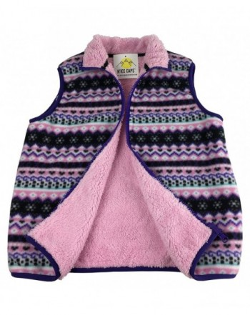Girls' Outerwear Vests Online Sale