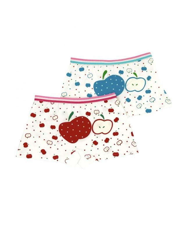 278280f41955 Toddler Girls Cotton Apple Printed Boyshort Hipster Panties ...