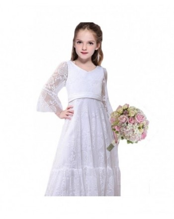 CQDY Sleeves Children Baptism Communion