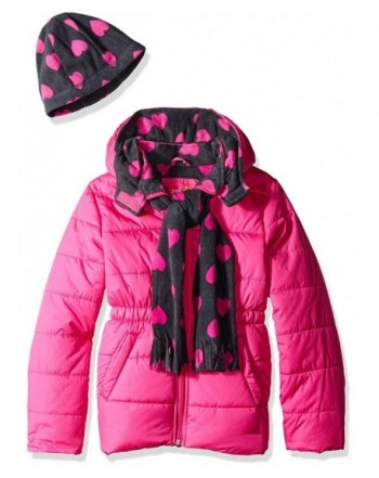 Pink Platinum Puffer Jacket Accessories