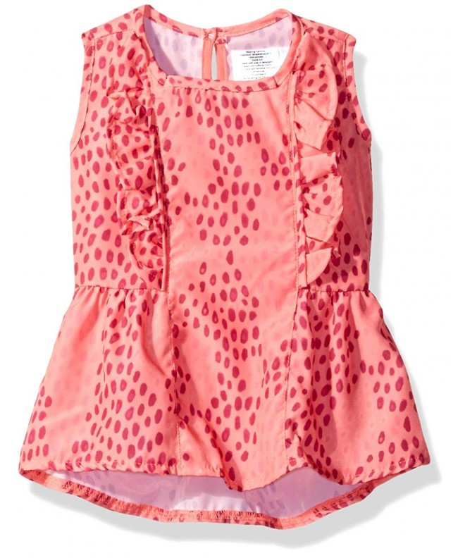4c8271eae9 ... Cover up UV Protection Beach Dress - Pink - CT12N7DHBA8. OFFCORSS  Toddler Summer Swimming Protection