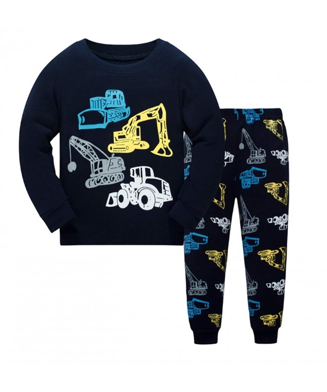 Guraxi Pajamas Sleeve Sleepwear Comfortable