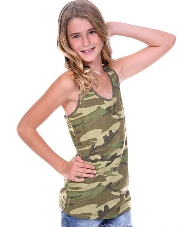 Kavio Girls 7 16 Camouflage Racer