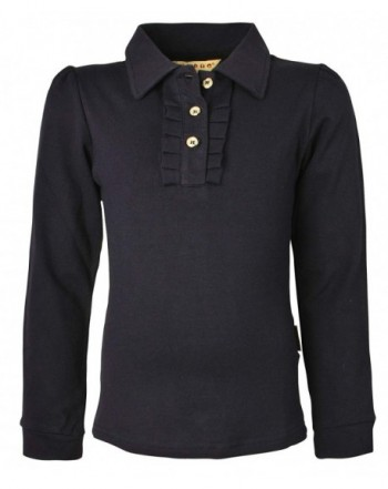 Ipuang Sleeve Cotton Ruffle Shirt