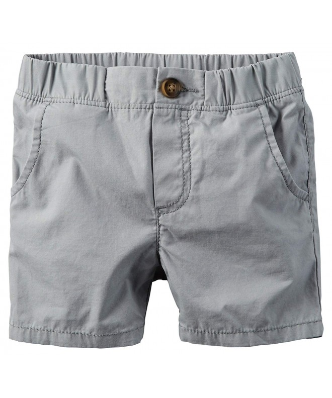 Carters Light Front Twill Shorts