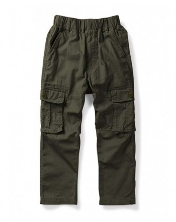 OCHENTA Boys Lightweight Cargo Pants