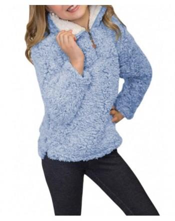 KIDVOVOU Winter Pullover Sweatshirt 4 13Years