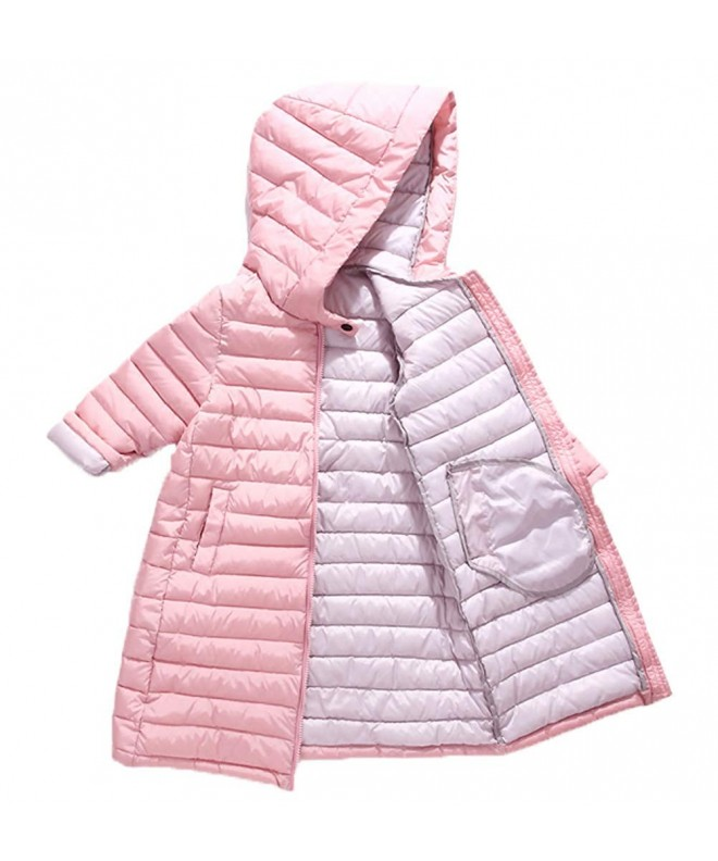 Hooded Padded Toddler Windproof Overcoat