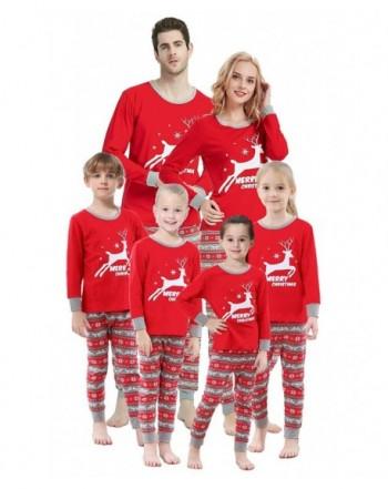 Matching Family Pajamas Christmas Sleepwear