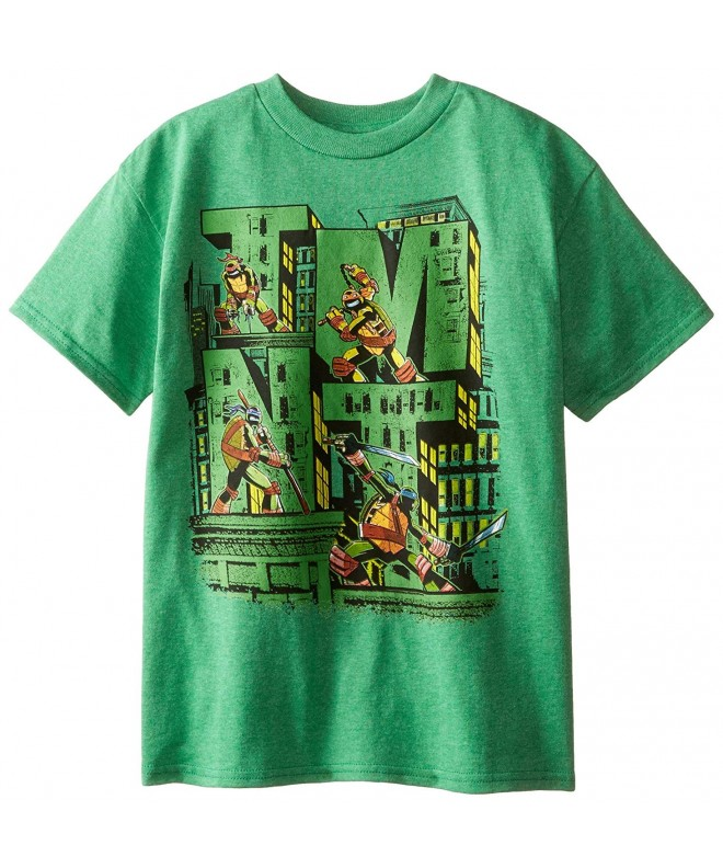 Teenage Turtles T Shirt Heather X Large
