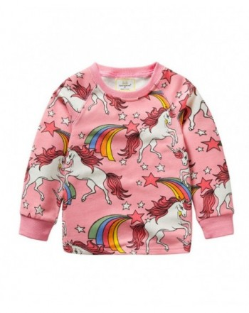 Marosoniy Unicorn Pullover Sweatshirts Christmas