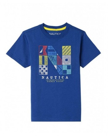 Nautica Short Sleeve Graphic T Shirt