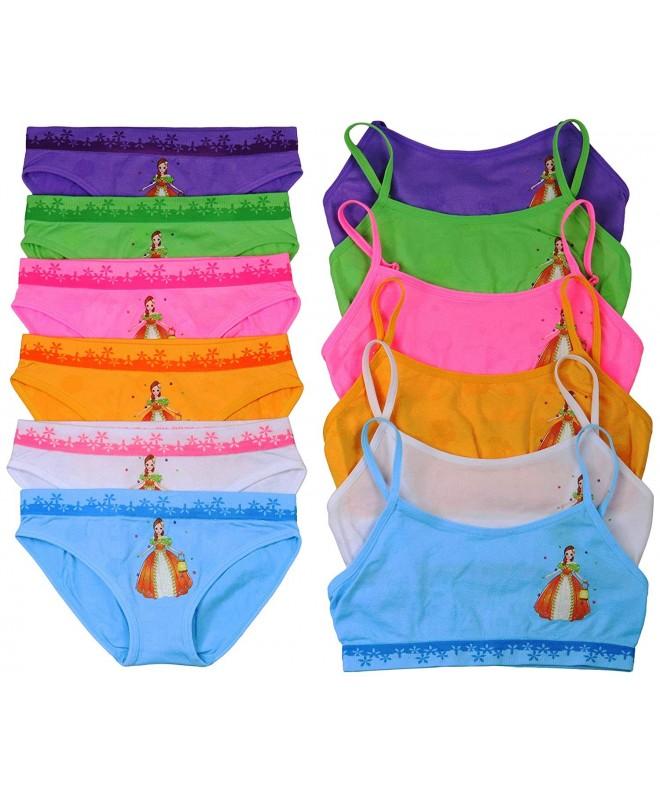 ToBeInStyle Girls Spaghetti Boyshorts Bikinis