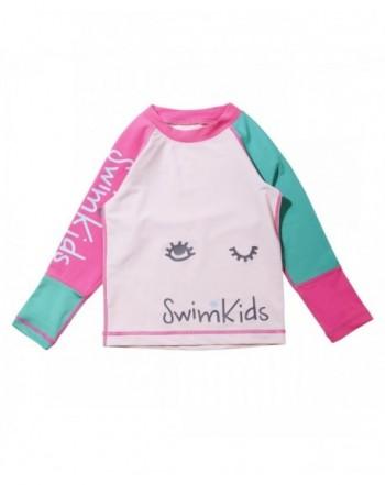 SWIMKIDS Girls Sleeve Guard Shirt