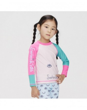 Girls' Rash Guard Shirts