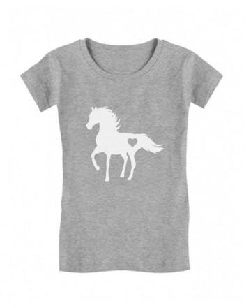 Tstars Horses Toddler Fitted T Shirt