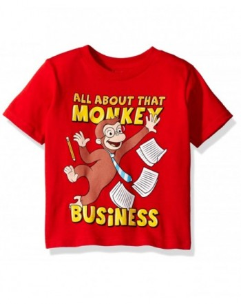 Curious George Toddler Business T Shirt
