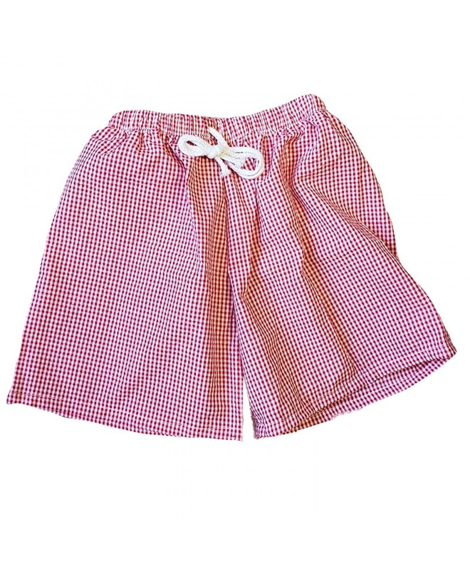 Like Cajun LLC Gingham Shorts