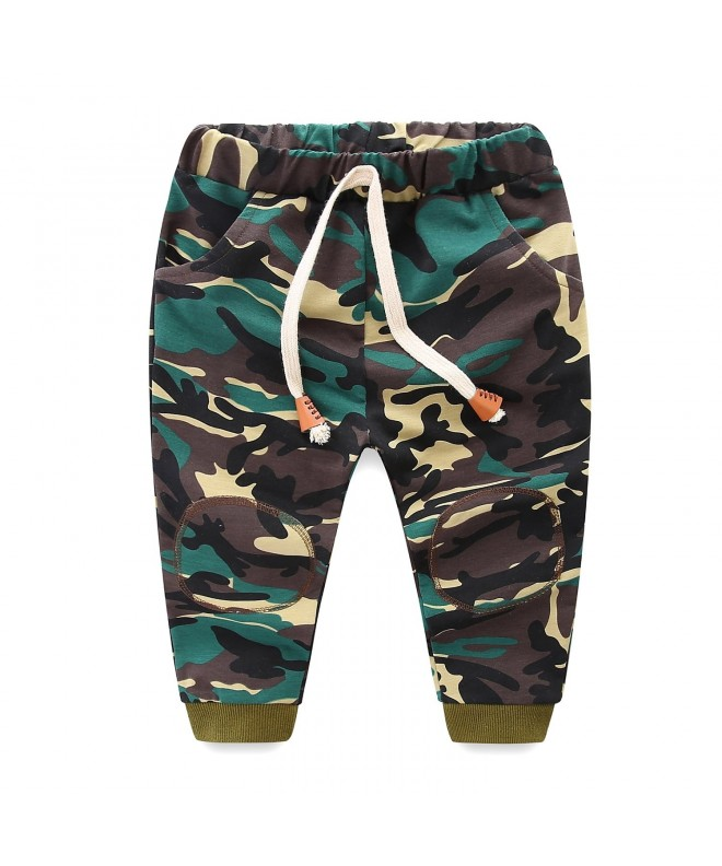 Mud Kingdom Boys Joggers Green