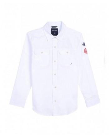Nautica Sleeve Printed Woven Shirt
