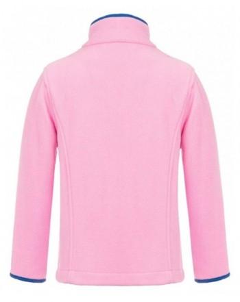 Girls' Fleece Jackets & Coats Wholesale