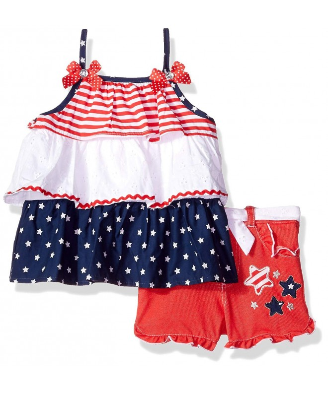 Nannette Girls Piece Americana Short
