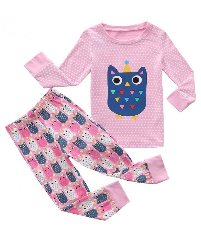 Fiream Pajamas Cotton Toddler Sleepwears