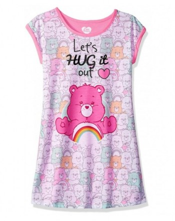 Care Bears Girls Lets Nightgown