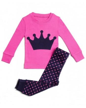 Bluenido Pajamas Princess Cotton 12m 8y
