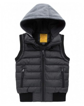 Wantdo Hooded Puffer Fleece Sleeveless