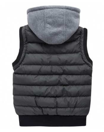 Designer Boys' Outerwear Vests Outlet Online