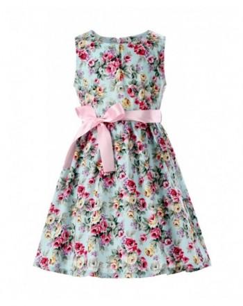 PrinceSasa Floral Cotton Dresses Clothes