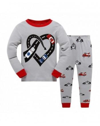 Little Sleepwear Sleeve Pajama Police