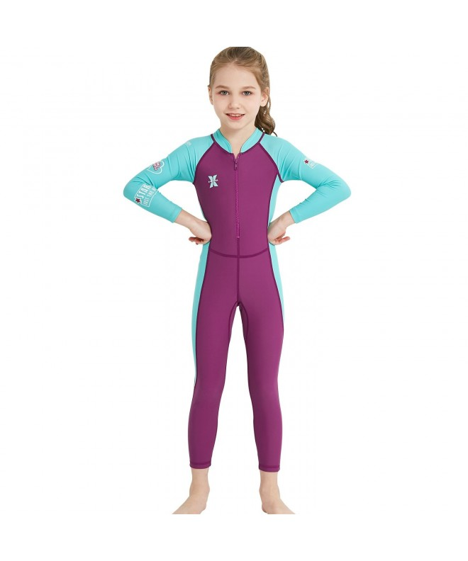 DIVE SAIL Girls Sleeve Swimsuit