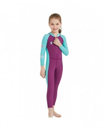 Fashion Girls' Rash Guard Sets