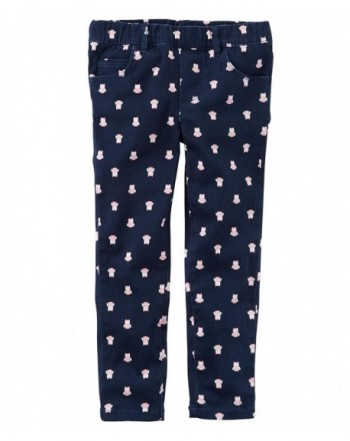 Carters Woven Pant-Hot Pink