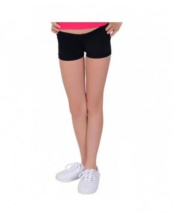 Stretch Comfort Girls SPANDEX Shorts