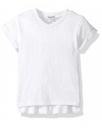 Splendid Girls Basic Short Sleeve