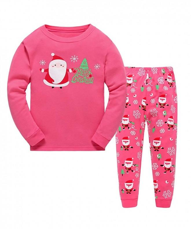 Christmas Pajamas Sleepwear Clothes Cotton