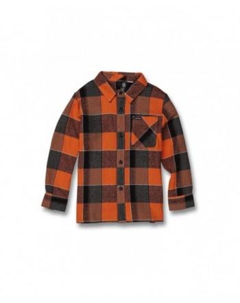 Volcom Little Glitch Button Flannel