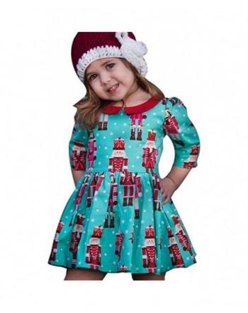 Toddler Cartoon Princess Christmas Outfits